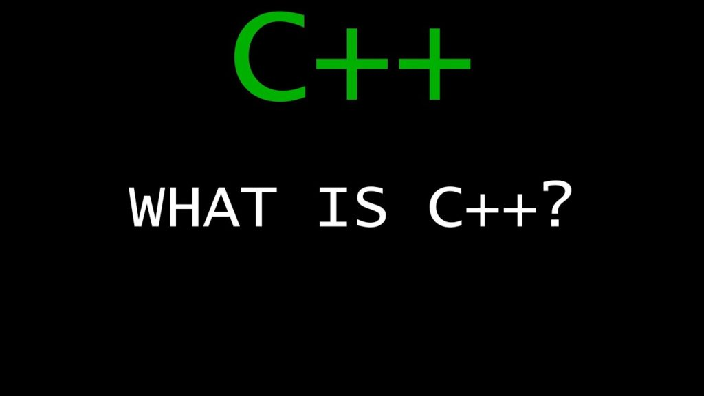 What C++ is