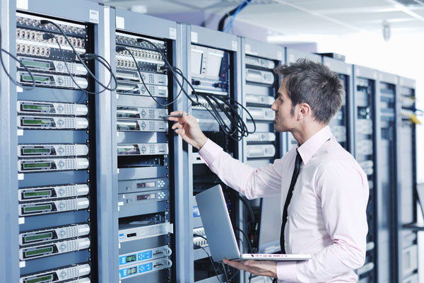 network administrator is in charge of the business's network